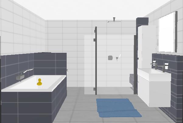 Foto s badkamers bouwbedrijf van der linden helmond bv - Badkamer wandtegels ...